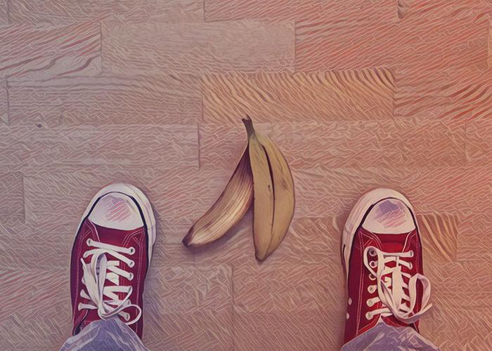 3 táncos banánhéj, amin Te is elcsúszhatsz